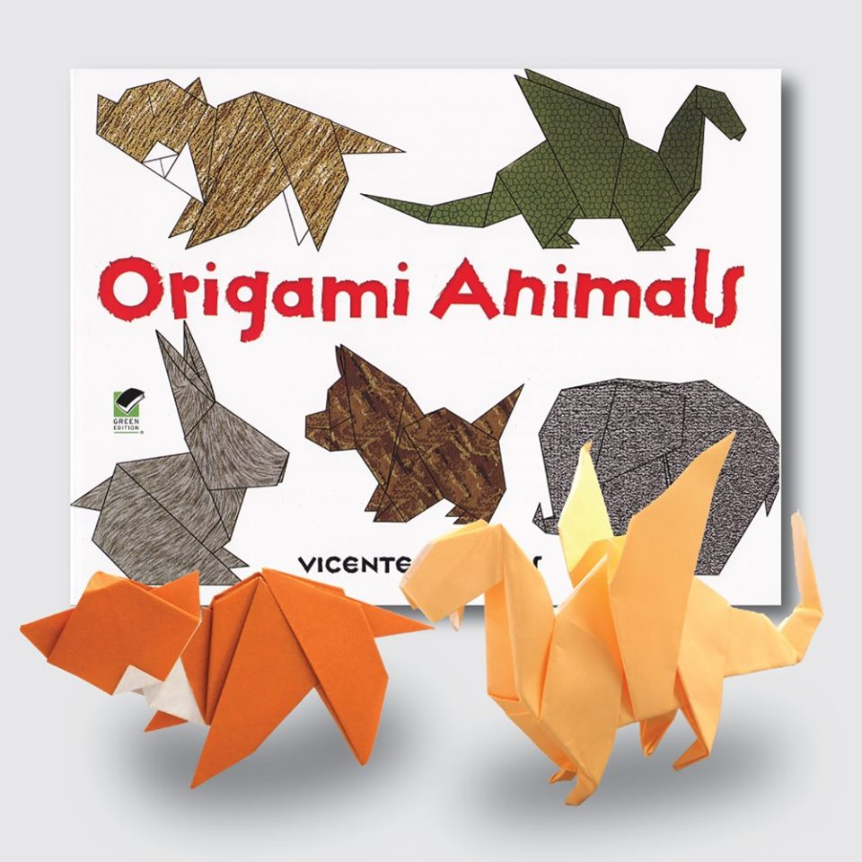 Standing Rabbit Origami Animals Vector - Download Free Vectors ... | 960x960