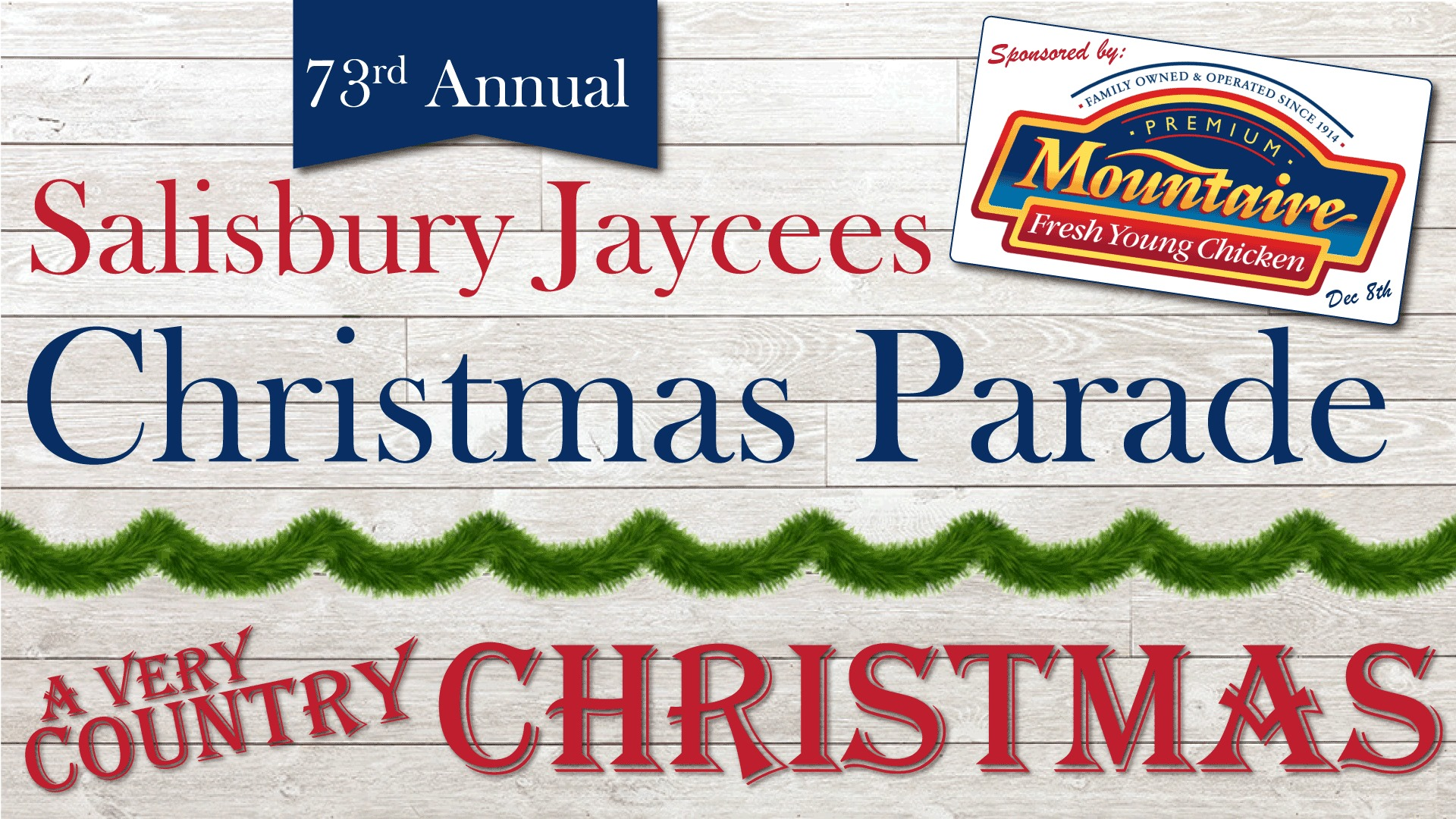 Salisbury Christmas Parade 2020 Mountaire Farms Presents 73rd Salisbury Jaycees Christmas Parade